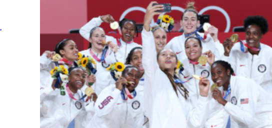 US women win a record basketball gold medal