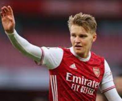 Arsenal closing on Martin Odegaard
